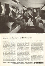1945 WW2 era AD BOEING Stratocruiser Post war Airliner London 660 minutes 090315