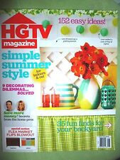 HGTV June 2015 Magazine FREE SHIPPING! Home and Garden