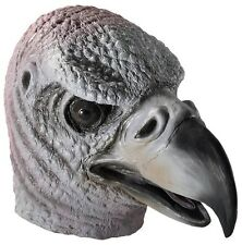 Vulture Animal Mask FULL SIZE Life-Life Realistic LATEX Costume Adult Bird Head