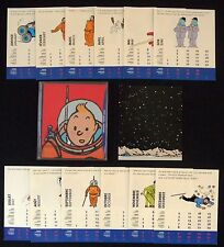 Calendrier 2000 HERGE 1999 Moulinsart Tintin   13,5x11,5