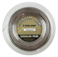 Signum Pro - Firestorm 1.25mm  - Tennis String - Gold Metallic - Reel - 200m