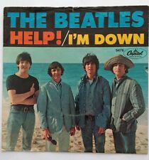 THE BEATLES 45 - HELP! / I'M DOWN - 5476 Capitol Records VG+ w.Picture Sleeve