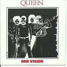 7'Queen   One Vision/Blurred Vision   Germany NEAR MINT