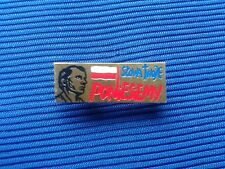 Ks. Jerzy Popiełuszko - ORIGINAL PIN BADGE NSZZ SOLIDARNOSC POLAND - SOLIDARITY