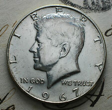 1967  USA   Half silver  dollar  Kennedy