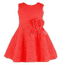 Baby Kids Girls Toddler Lace Princess Party Dresses Skirt Clothes 3-4Y