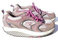 SKECHERS SHAPE UPS WOMEN'S COMFORT WALKING SHOES SZ 9.5 IN EXCELLENT CONDITION