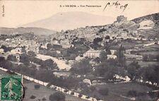 VAISON-LA-ROMAINE 3 vue panoramique éd lassalle timbrée 1902