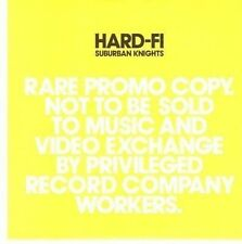 (CE365) Hard-Fi, Suburban Knights - 2007 DJ CD