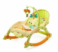 Fisher-Price Newborn-to-Toddler Portable ROCKER, Infant Seat Baby BOUNCER, T2518