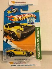 Ford Shelby GR-1 Concept * TREASURE HUNT * Factory Set 2012 Hot Wheels * Y27