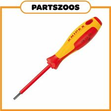 Knipex Hex Screwdriver 5X75mm Insulated 1000V 981350 New Molybdenum Steel