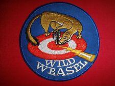 Vietnam War US Air Force F-100 WILD WEASEL ONE Patch