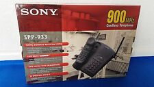 Sony SPP-933 Cordless Phone 900 MHz - IN BOX - TESTED - Excellent Condition