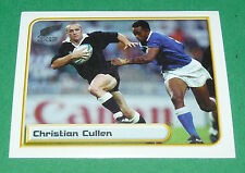 N°67 C. CULLEN NEW ZEALAND ALL BLACKS MERLIN RUGBY IRB WORLD CUP 1999 PANINI