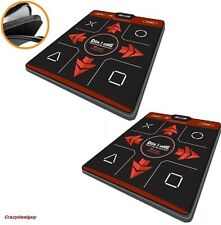 2x PS3, PC USB Master 1 inch DDR Deluxe Dance Pad Mats