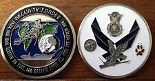 US AIR FORCE SECURITY POLICE FORCES CHALLENGE COIN MILITARY COINS NEW