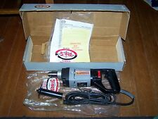 "Vintage NOS SIOUX-E 8040 3/8"" Electric Drill D-Handle W/Box & Manual FREE SHIP"