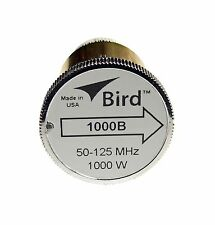 Bird 1000B Thruline WattMeter Element 1000W 50-125 MHz, GENUINE BIRD