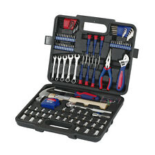 WORKPRO 165PC Handtool Set Bits Ratchet Sockets Wrenches Hex Keys Tool Kit