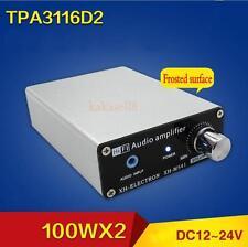 TPA3116D2 100WX2 Dual Channel HIFI Digital Subwoofer Power Amplifier Board +case