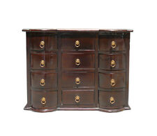 Chinese Brown 12 Drawers Chest of Drawers Cabinet cs896