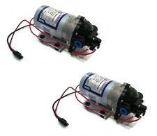(2) New SHURflo 12v VOLT Demand WATER PUMPS Lawn Yard Garden Chemical Sprayer
