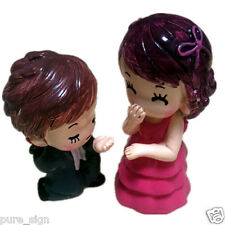 DIY Miniature Dolls House Propose Marriage Couple Dolls
