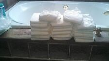 Adult ABDL Medium White Diapers 30 each Plastic outercover Assortment!!!