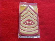 US Marine Corps - Master Sergeant Chevrons E-8 - Dress - NEW Officers' Equipment