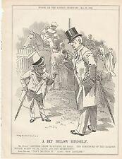 1905 Punch Cartoon Derby Lord Rosebery Ladas Premiership