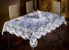 WHITE ELEGANCE RECTANGULAR TABLE RUNNER 51'' x 71''