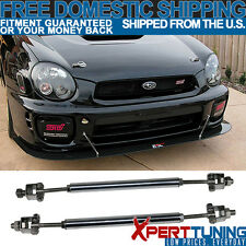 SUPERDUTY High Strength Adjustable Front Splitter Rods Support Stabalizer