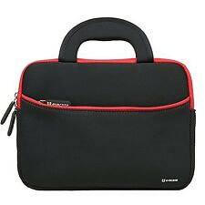 Evecase 8.9 to 10.1 inch Tablet Ultraportable Neoprene Zipper Carrying Case w...