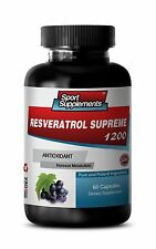 Resveratrol Powder - Resveratrol Supreme 1200mg -  Increase Metabolism Pills 1B