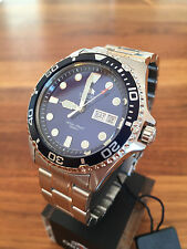NEW Orient Ray II 2 blue FAA02005D9 Automatic Watch Automatik Herren Taucher Uhr
