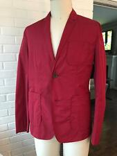 BURBERRY Blackfriar rainproof packable RED sport coat with packing bag