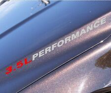 3.5L PERFORMANCE Hood decal sticker dodge magnum supercharger coupe ram Acura