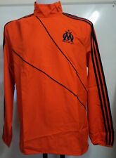 OLYMPIC MARSEILLE ORANGE WINDBREAKER BY ADIDAS SIZE 42/44 INCH CHEST BRAND NEW
