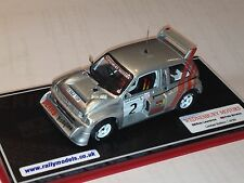 IXO 1/43 MG Metro 6R4 Rob Lawrence Woodpecker Stages Rally Code 3