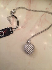 Brand NEW - CZ by Kenneth Jay Lane Pave Heart Pendant - Free Shipping
