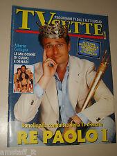 TV SETTE=1995/26=PAOLO BONOLIS=BELDI=GIULIA FOSSA=LAURA FREDDI=CHIAPPINI=BIFFI=