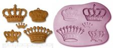 STEAM PUNK CROWN CROWNS Craft Sugarcraft Sculpey Silicone Mold Mould