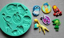 Silicone Mould INSIDEOUT CHARACTERS Sugarcraft Cake Decorating Fondant / fimo