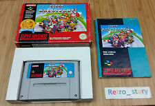Super Nintendo SNES Super Mario Kart PAL