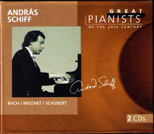 Andras bateau Great pianists of the 20th Century 2cd Bach Mozart schubert sonata