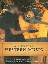 A History of Western Music [Hardcover]-ExLibrary