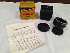 New in Box NOS Vintage STAR-D Automatic Tele-Converter Lens 2X YASHICA-CONTAX