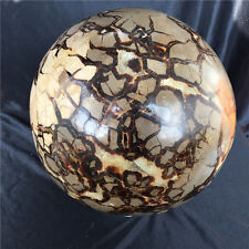 17.5kg NATURAL Dragon Septarian Stone crystal sphere ball healing