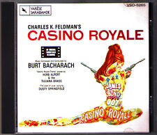 CASINO ROYALE 007 James Bond Burt Bacharach Sondtrack CD Varese Sarabande Varèse